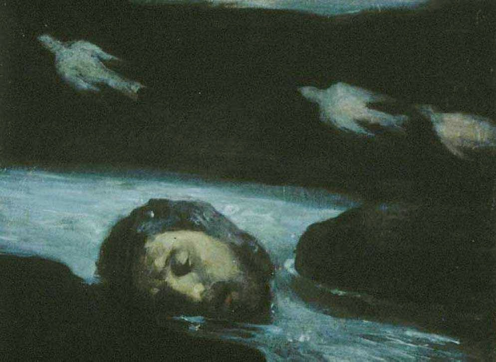 kahlil-gibran-the-head-of-orpheus-floating-down-the-river-hebrus-to-the-sea-c-1908-1914
